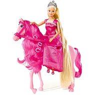 Simba Bábika Steffi princezná na koni - Bábika