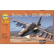 Smer Model Kit 0858 letadlo – Suchoj Su-25 UB/UBK - Plastikový model