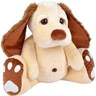 Pes Pupík béžový 75 cm - Plyšová hračka