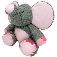 Slon Valda sivo-ružový 45 cm - Plyšová hračka