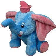 Slon Jumbo modrý, 55 cm - Plyšová hračka