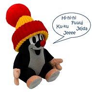 Krtko hovoriaci červená čiapka 20 cm - Plyšová hračka