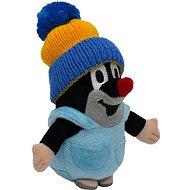 Krtko v nohavičkách modrá čiapka 14 cm - Plyšová hračka