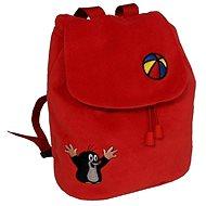 Batôžtek Krtek červený - Detský batoh