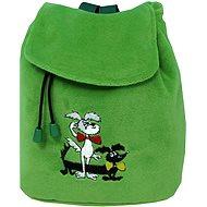 Batôžtek Štaflík a Špagetka zelený - Detský ruksak