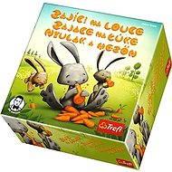 Trefl Zajace na lúke - Spoločenská hra