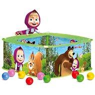 Bazénik s balónikmi Máša a Medveď