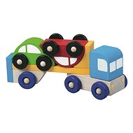 Detoa Truck s autíčkami - Didaktická hračka