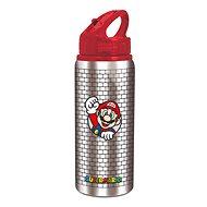 Fľaša na vodu Hliníková fľaša šport 710 ml, Super Mario