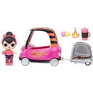 L.O.L. Surprise! Nábytok s bábikou – Cool autoservis & Spice - Bábika