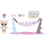 L.O.L. Surprise! Nábytok s bábikou – Pohoda na pláži & Dawn - Bábika