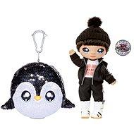 Na! Na! Na! Surprise Na! Na! Na! Surprise Bábika v trblietavom zvieratku 2 v 1 – Sparkle Penguin - Bábika
