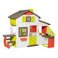 Smoby Domček Neo Friends House s kuchyňou rozšíriteľný - Detský domček