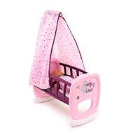 Nábytok pre bábiky Smoby Baby Nurse Kolíska s baldachýnom pre bábiky