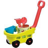 Ecoiffier Záhradný vozík s vedierkom a príslušenstvom - Súprava záhradného náradia