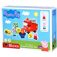 PlayBig BLOXX Peppa Pig Hasičské auto s príslušenstvom - Stavebnica