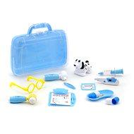 Sada veterinárka, svetlo, zvuk, 30 × 26 × 9 cm, Box – modrá - Kufrík