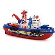 Lodička na batérie,  29,5 × 10 × 12 cm – blister - RC loď na ovládanie