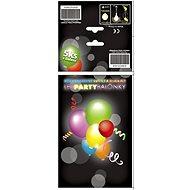 Nafukovacia lopta Sada LED svítících a blikajících balónků - 10 ks - Nafukovací míč