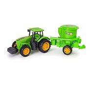 Traktor s prívesom 41 × 10 × 11 cm - Traktor