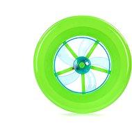 Lietajúci tanier svetelné efekty – 23 cm - Hra na záhradu