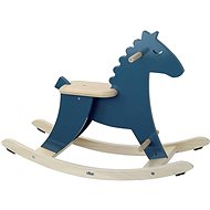 Vilac Drevený hojdací kôň modrý - Hojdačka