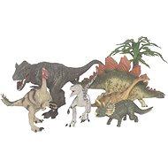Figúrky Sada dinosaurov so stromami 6