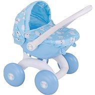 Kočík pre bábiky Babyboo, môj prvý kočík - modrý