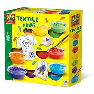SES Barvy na textil, 6 barev