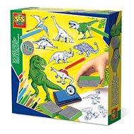 SES Pečiatky dinosaury - Pečiatky