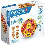 Geomag – Classic Panels Masterbox Warm 388 pcs