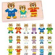 Imaginarium Medvedia rodinka – drevené puzzle pre celú rodinu