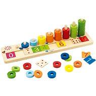 Imaginarium Drevená hra s číslami