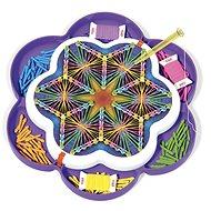 Kreatívna súprava Quercetti Play Art Mandala – kreslenie pomocou nití a kolíčkov
