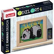 Kreatívna súprava Quercetti Panda – mozaika z kolíčkov