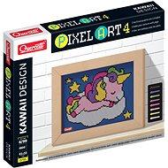 Kreatívna súprava Quercetti Unicorn – mozaika z kolíčkov
