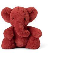 Ebu slon červený 29 cm - Plyšová hračka