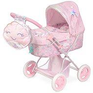 Kočík pre bábiky Decuevas 85041 skladací kočík pre bábiky s batôžkom a doplnkami ocean fantasy 2021 – 60 cm