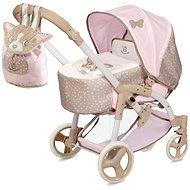 Decuevas 81643 skladací kočík pre bábiky 3 v 1 s prenosnou taškou Didi 2021 – 75 cm - Kočík pre bábiky