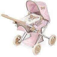 Kočík pre bábiky Decuevas 85143 skladací kočík pre bábiky 3 v 1 s prenosnou taškou Didi 2021 – 53 cm