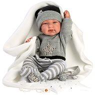 Llorens 84325 New Born chlapček – 43 cm