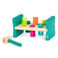 B-Toys Zatĺkačka drevená Pound & Play