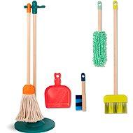 B-Toys Sada na upratovanie drevená Clean'n' Play - Tematická sada hračiek