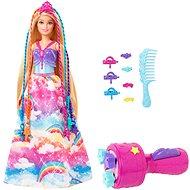 Barbie princezná s farebnými vlasmi herná kolekcia - Bábika