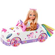 Barbie Chelsea a kabriolet s nálepkami - Bábika