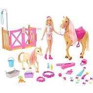 Barbie rozkošný koník s doplnkami - Bábika
