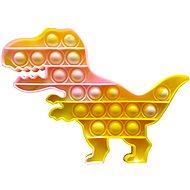 Pop It Pop it – dinosaurus žltý mramorovaný