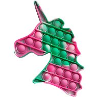 Pop it - jednorožec zeleně-mramorovaný