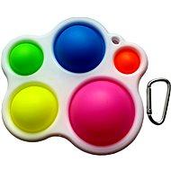 Pop it - vícebarevný paleta