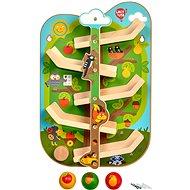 Lucy & Leo 237 Strom so zvieratkami – drevený, nástenný tobogan